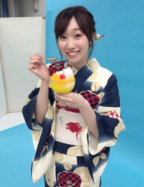 【画像】声優・田所あずささんの浴衣姿、美しい