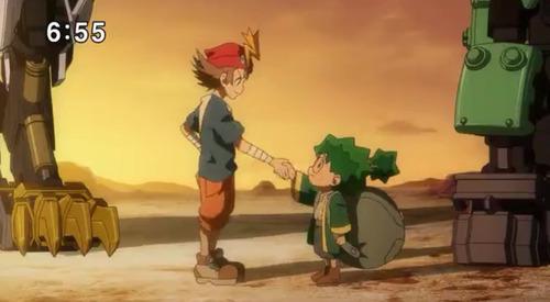 【ゾイドワイルド】7話感想 フリーダム団に二人目の仲間として、オニギリが加入