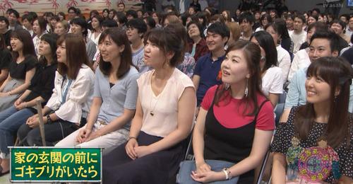 声優の加藤英美里さんがテレビ番組を観覧しガッツリ写り込んどるwww