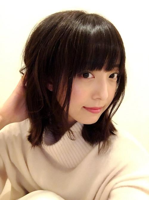 【画像】髪をそこそこ切った加藤英美里さんが色っぽい