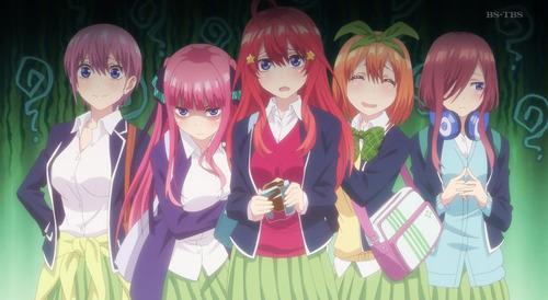 【五等分の花嫁】12話(最終回)感想 最終的に5姉妹全員好きになれる終わり方だった