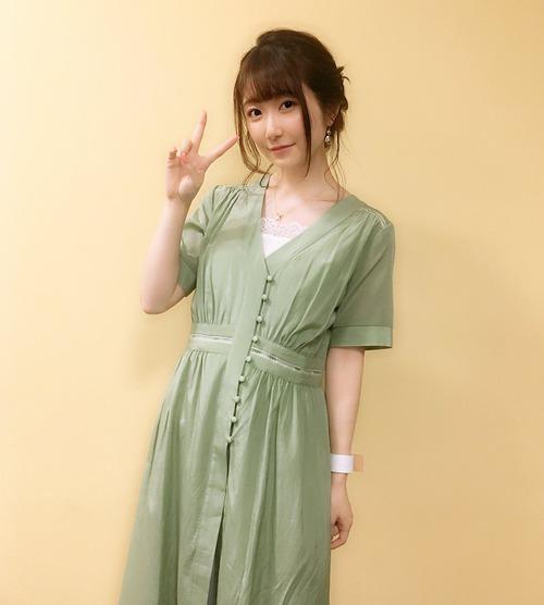 【画像】声優の日高里菜ちゃんはグリーンも似合うな