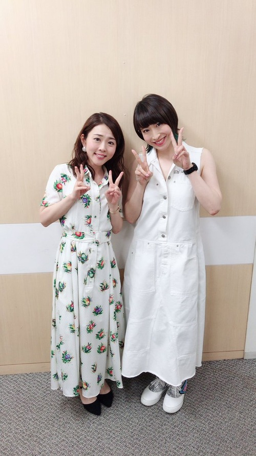 【画像】声優・福圓美里さんと名塚佳織さんのツーショットは今の声優にはない良さがあるよな