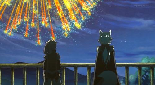 【メルクストーリア -無気力少年と瓶の中の少女-(メルスト)】2話感想 花火が存在する世界なんだ