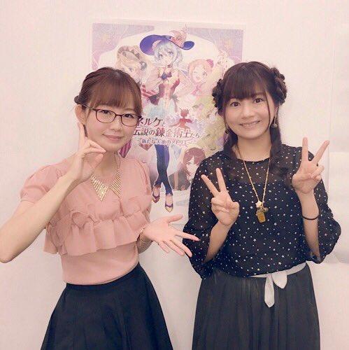 【画像】声優・門脇舞以さんと明坂聡美さんのツーショットいいね