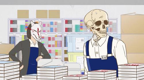 【ガイコツ書店員 本田さん】2話感想 本屋さんでこんな戦いが繰り広げられているとは