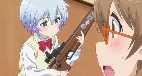 【ライフル・イズ・ビューティフル】4話感想 やっぱり女子×武器は正義