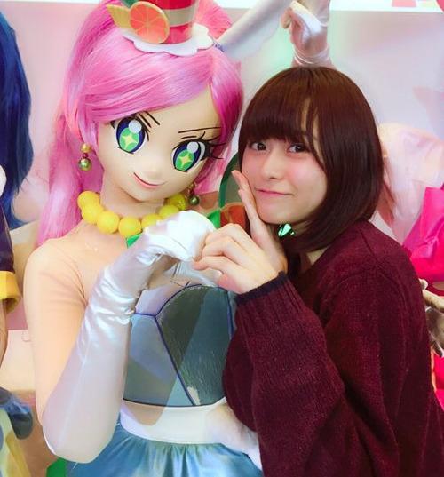 【キラキラ☆プリキュアアラモード】キュアパルフェと声優・水瀬いのりが一緒にいるって最高だよな