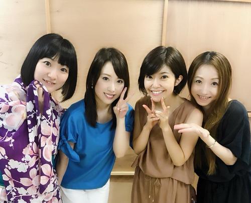 【画像】福原香織さん、新谷良子さん、伊瀬茉莉也さん、飯塚雅弓さんの4ショートめっちゃいいな