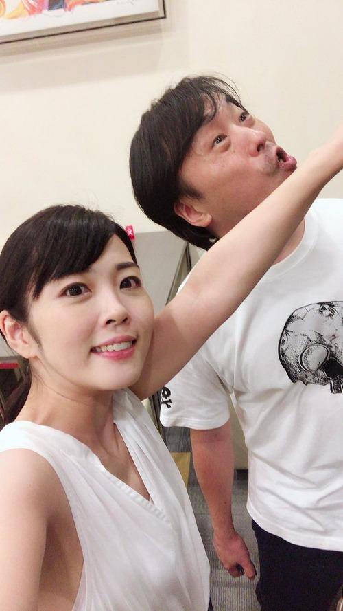 【画像】声優・福圓美里さんが関智一さんを殴ってる