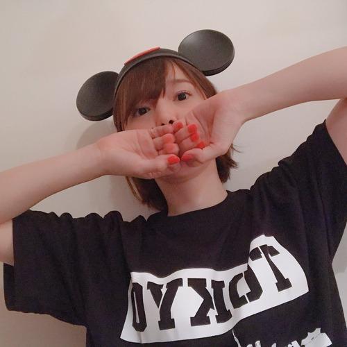 【画像】ネズミ耳を付けてる内田真礼さんもかわいいな