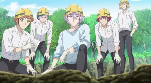 【美男高校地球防衛部HAPPY KISS!(3期)】4話感想 埋蔵金を掘り当てよう