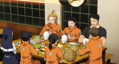 【炎炎ノ消防隊】10話感想 一緒に食卓を囲める仲間がいる幸せ