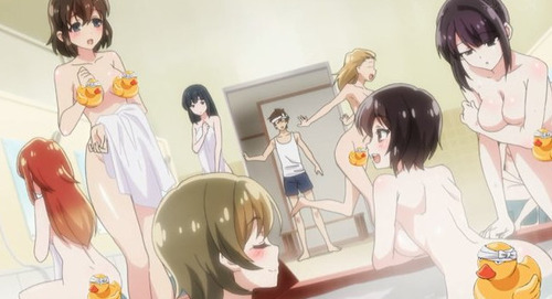 【洗い屋さん!~俺とアイツが女湯で!?】1話感想 僧侶枠なのに普通にHなアニメだ
