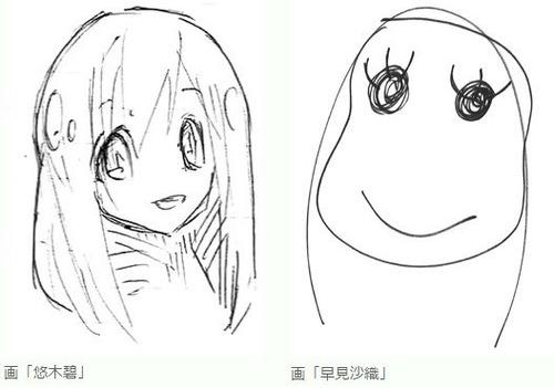 【画像】悠木碧と早見沙織の画力差www