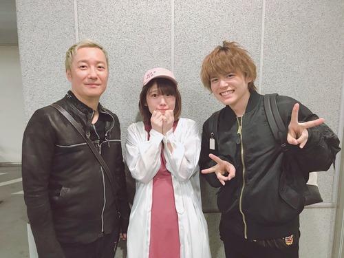【画像】内田姉弟と小野坂昌也という中々見れないスリーショット