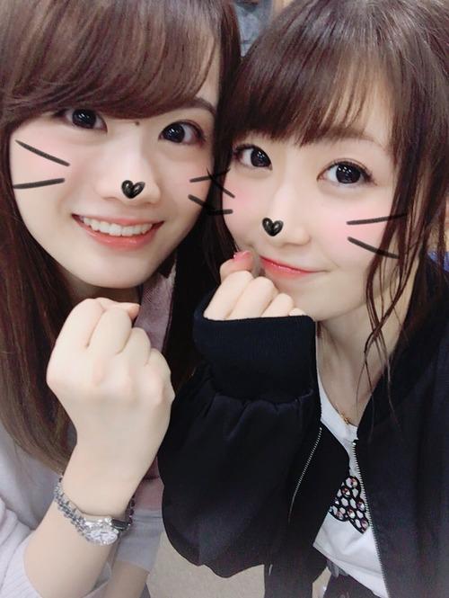 【画像】日高里菜ちゃんと瀬戸麻沙美さんのツーショット最高だな