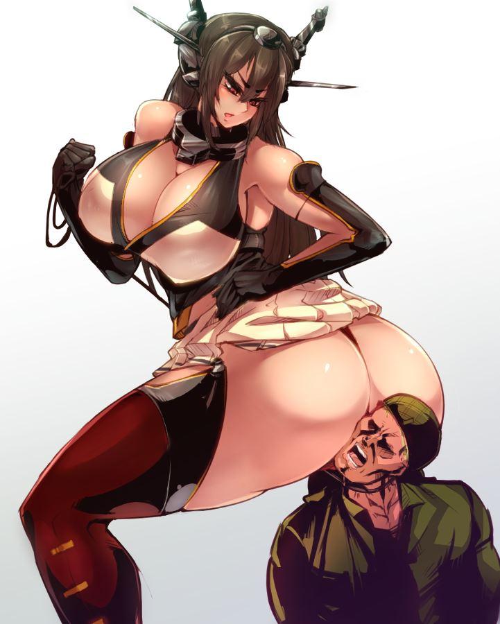 【顔面騎乗】女の子のお尻や股間を顔面に押し付けられてそのまま果てたい… その2