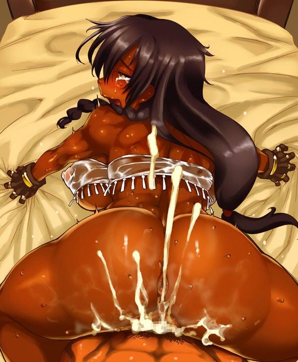 褐色 エロ画像 (44)