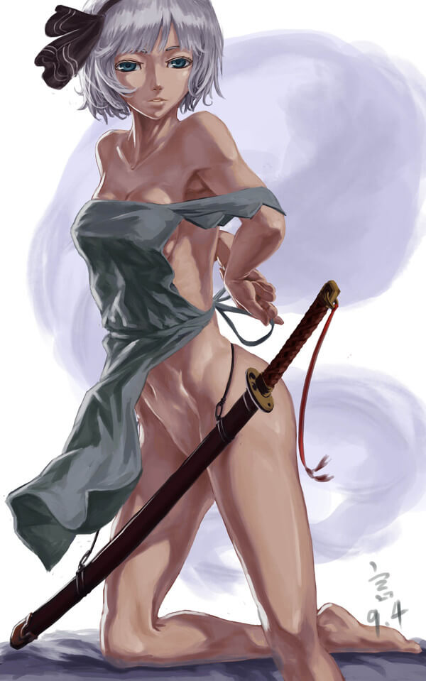裸エプロン エロ画像 (14)