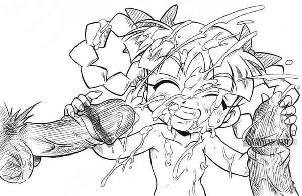ぶっかけ エロ画像 (19)