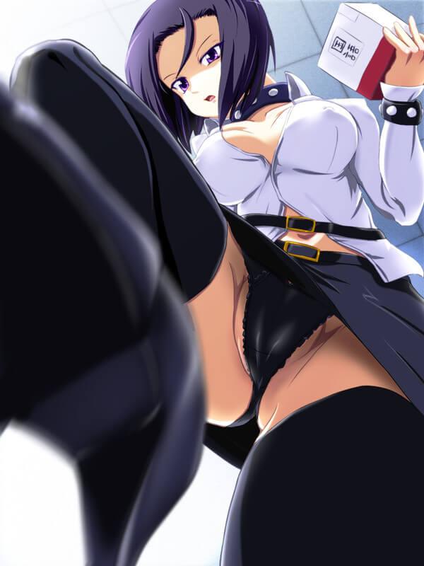 ローアングル エロ画像 (1)