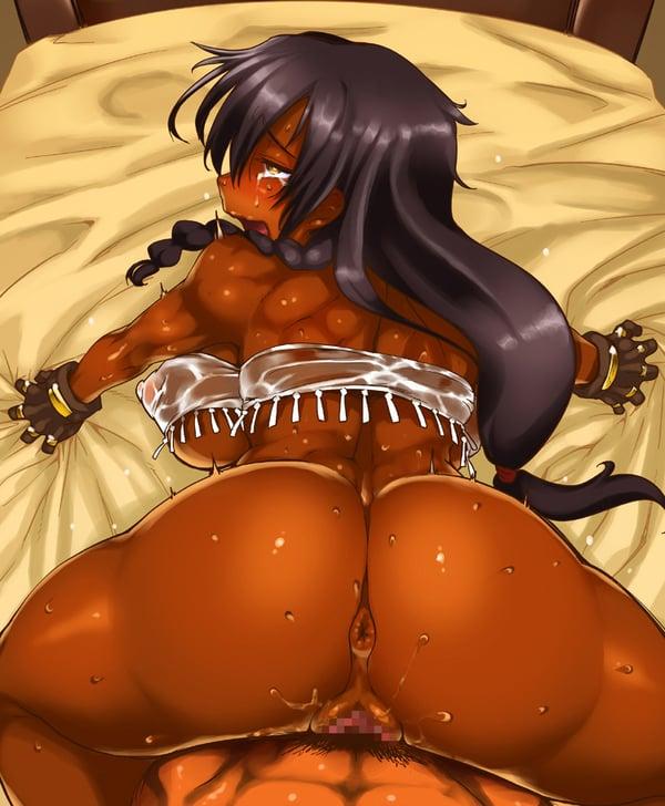 褐色 エロ画像 (45)