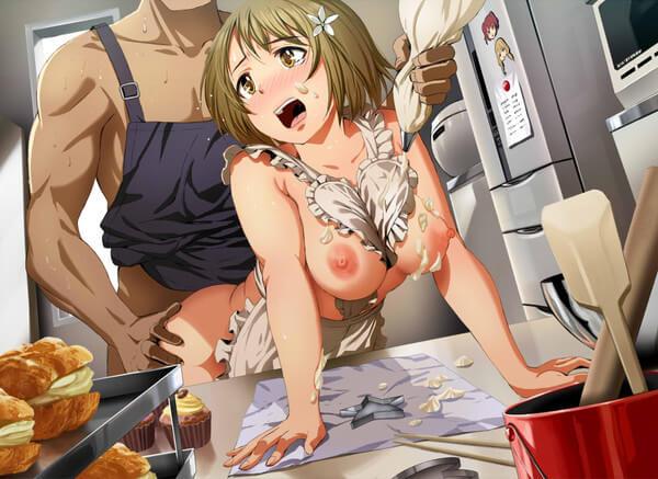 裸エプロン エロ画像 (37)