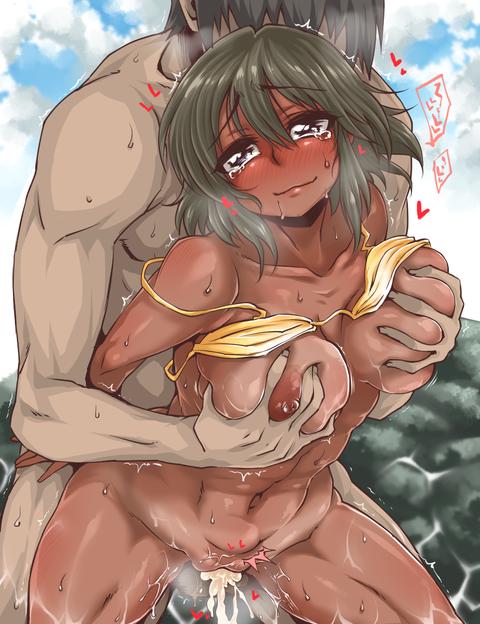 日焼け 褐色 エロ画像 (10)