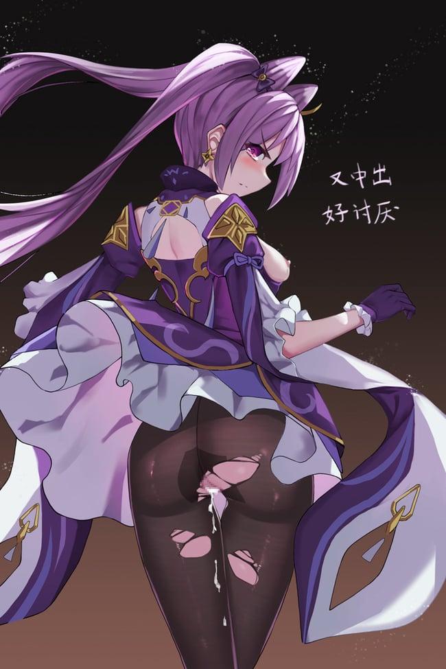 刻晴 エロ画像 (28)