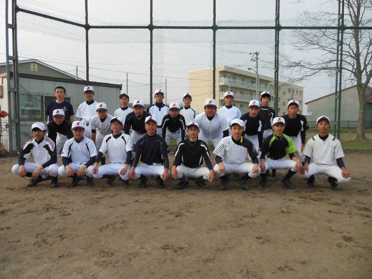 第12回(一社)中標津青年会議所旗争奪中学校野球大 …
