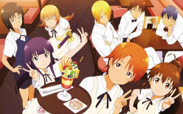 本日17時から『WORKING!!』TVアニメ1期をニコ生で全話一挙放送!