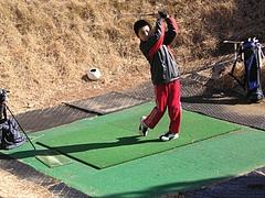 2010.01.30清水ゴルフセンター1H