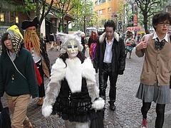 日活芸術学院 かわさきハロウィン2010