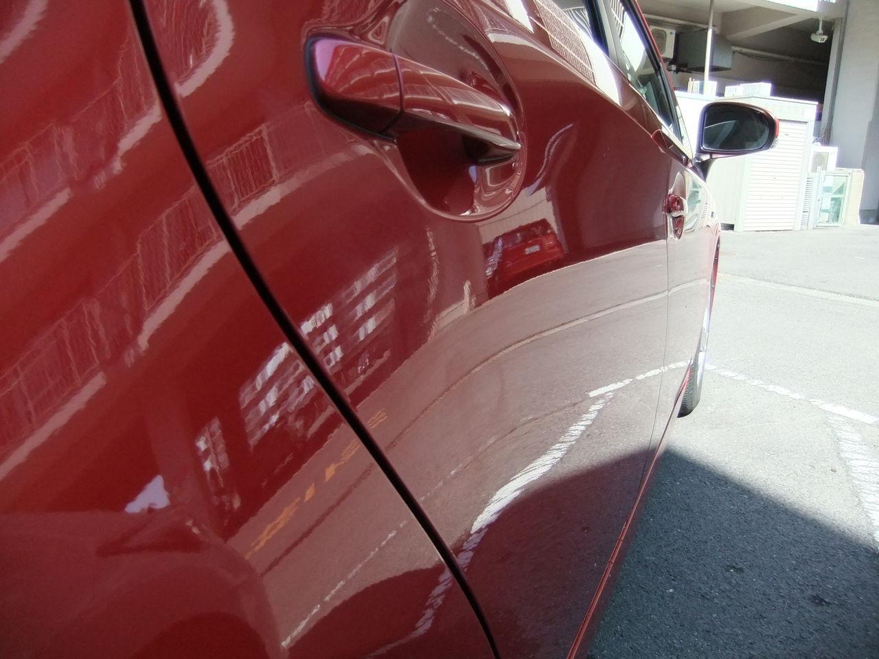 ... に値する!:赤プリ君の洗車