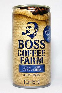 缶コーヒー BOSS COFFEE FARM オリジナルブレンド
