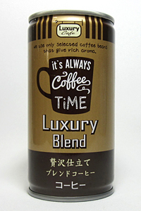 缶コーヒー Luxury Cafe Luxury Blend