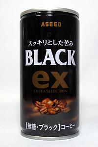 缶コーヒー アシード ex ブラック