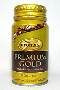 缶コーヒー アロマックス プレミアムゴールド(170ml)