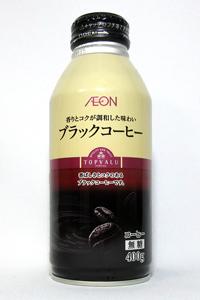 缶コーヒー トップバリュー ブラックコーヒー(400gボトル缶)