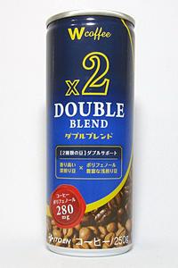 缶コーヒー W coffee ダブルブレンド