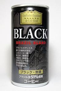 缶コーヒー ジェイフード ブラック ブラジルブレンド