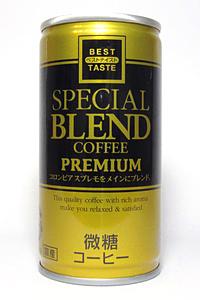 缶コーヒー ベストテイスト スペシャルブレンドコーヒー 微糖