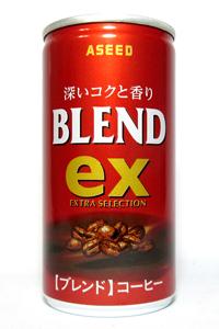 缶コーヒー アシード ex ブレンド