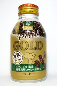 缶コーヒー ゼンショー フェアトレード マイルドゴールド微糖