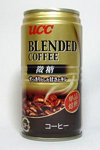 缶コーヒー UCC ブレンドコーヒー 微糖