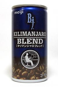 缶コーヒー 明治 B.j. キリマンジャロブレンド