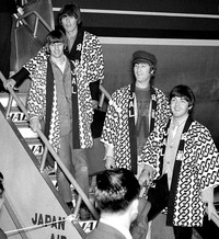 beatles in japan