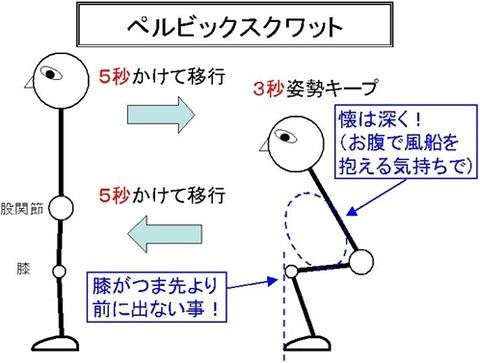 02_ペルビックスクワット①