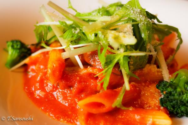 ペンネ 季節野菜のトマトソース